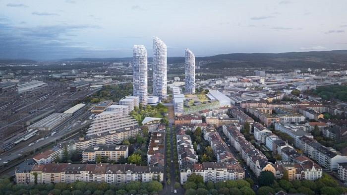 das höchste Wohnhaus der Schweiz